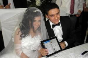Твиттер-свадьба состоялась в Турции