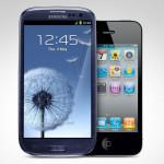 iPhone 5 в сравнении с Galaxy S III