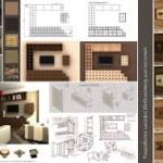 Компьютерная графика настоящей мебели