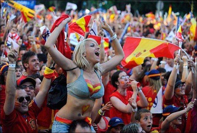 Фан-движения Евро-2016. Испания