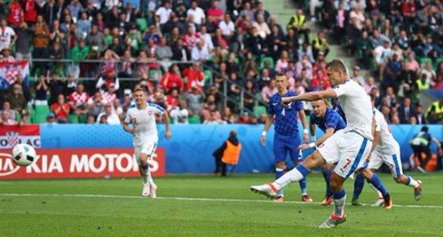 Чехи отыгрывают два мяча у хорватов