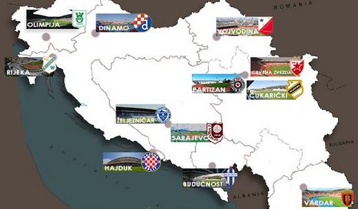 Через два года стартует Балканская лига бывших республик Югославии