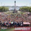 Президент Португалии наградил игроков орденами, праздник в Лиссабоне продолжается