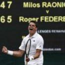 Шок для Федерера: Раонич выходит в финал Уимблдона
