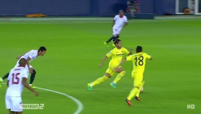 Вильярреал - Севилья - 0:0: лучшие моменты матча