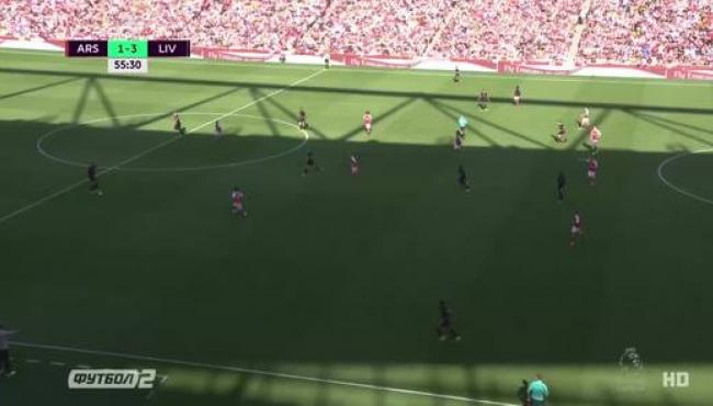 Ливерпуль обыгрывает Арсенал в фантастическом матче: смотреть голы