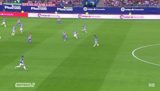 Атлетико на последних секундах потерял очки с Алавесом: смотреть голы