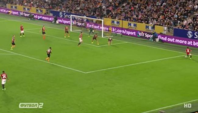 МЮ вырвал победу у Халл Сити: лучшие моменты матча
