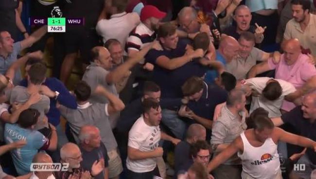 Коста спасает дебют Конте в матче Челси - Вест Хэм: смотреть голы