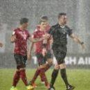 Отбор ЧМ-2018: матч Албании с Македонией остановил ливень