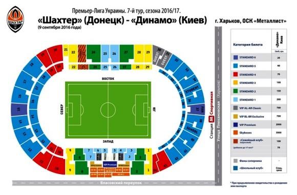 Шахтер — Динамо в Харькове: билеты в продаже с 3 сентября