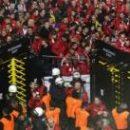 Фанаты Униона ранили четырех полицейских в Дортмунде