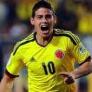 Хамес Родригес не сыграет с Уругваем из-за травмы