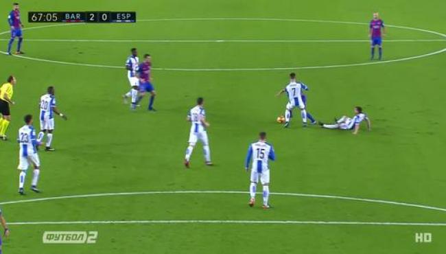 Барселона красиво громит Эспаньол в дерби и приближается к Реалу: смотреть голы