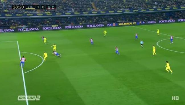 Атлетико разгромлен Вильярреалом: смотреть голы