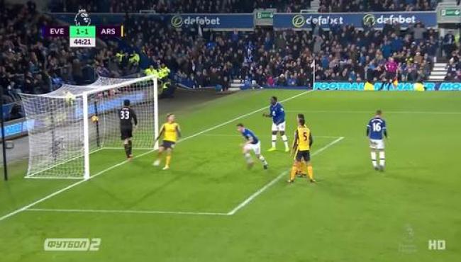 Эвертон нанес Арсеналу первое поражение с августа: смотреть голы