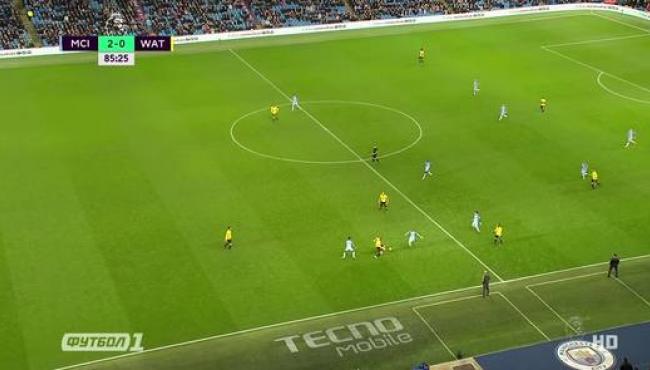 Манчестер Сити вспомнил вкус побед: смотреть голы Уотфорду
