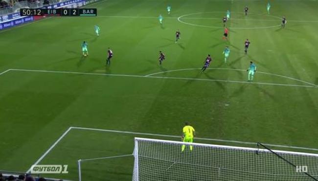 Барселона набирает три очка, но теряет Бускетса: смотреть голы Эйбару