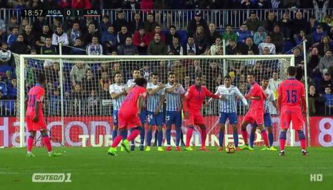 Малага выиграла первый матч зимой: смотреть голы Лас-Пальмасу