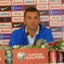 Андрей Шевченко: Наша задача - увезти из Хорватии очки