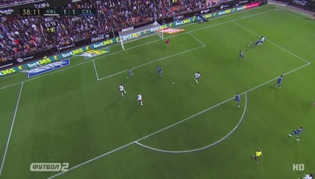 Валенсия вырвала победу у Сельты: смотреть голы