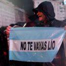 В Буэнос-Айресе прошёл митинг, посвящённый Месси