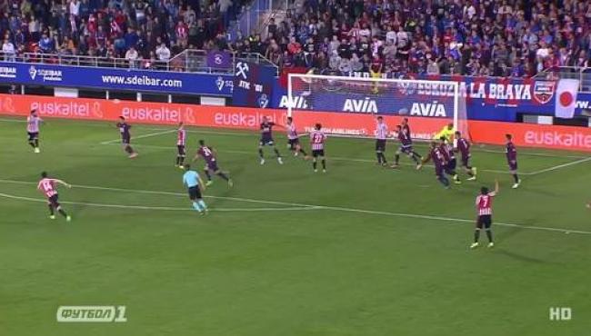 Атлетик одолел Эйбар на последних секундах: лучшие моменты матча