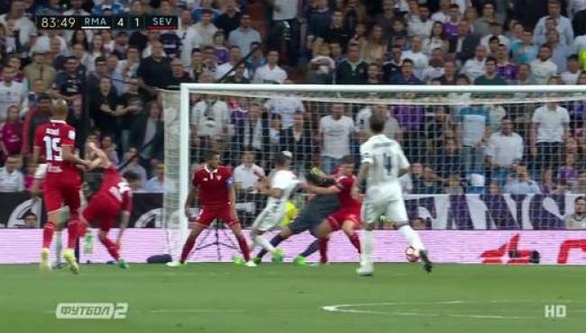 Реал со скандальным голом Начо побеждает Севилью: лучшие моменты матча