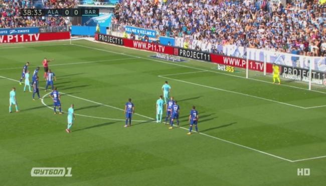 Алавес — Барселона — 0:2: Обзор матча