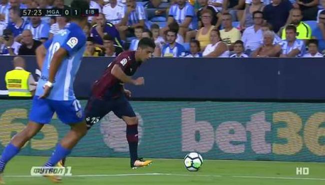 Малага на своем поле проиграла Эйбару: лучшие моменты матча