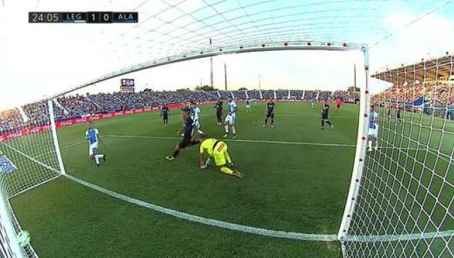 Леганес открыл сезон в Ла Лиге победой над Алавесом: лучшие моменты матча