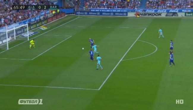 Дубль Месси принес Барселоне победу над Алавесом: смотреть голы