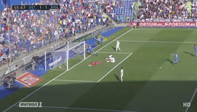 Реал чуть не потерял очки с Хетафе: смотреть голы