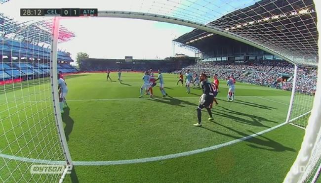 Атлетико одолел Сельту и вышел на третье место: смотреть голы