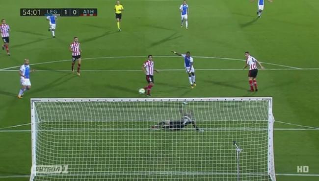 Леганес опять не пропустил и победил Атлетик: видео решающего гола