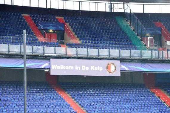 Шахтер провел тренировку в Роттердаме