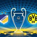 АПОЕЛ - Боруссия (Д): смотреть онлайн-видеотрансляцию Лиги чемпионов