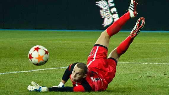 6 лучших вратарей чемпионата Украины по футболу