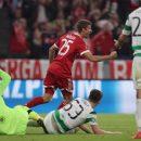Бавария обыгрывает Селтик и поздравляет юбиляров: смотреть голы матча