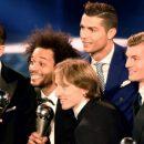 В идеальной сборной ФИФА пять игроков Реала и трое из Барселоны