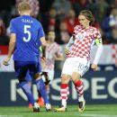 Хорваты не сумели обыграть Финляндию в сотом матче Модрича: смотреть голы