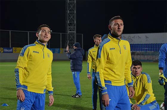 Марлос провел первую тренировку в составе сборной Украины: фотоотчет