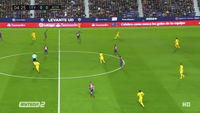Леванте — Атлетико — 0:5: Обзор матча