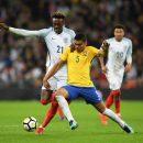 Разочаровывающая нулевка Англии и Бразилии на Уэмбли