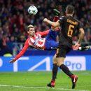 Атлетико обыгрывает Рому и сохраняет шансы на плей-офф Лиги чемпионов