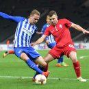 Заря уступает в Берлине, но сохраняет второе место: смотреть голы матча
