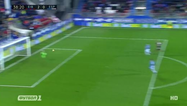 Эйбар обыграл и опередил Эспаньол: смотреть голы