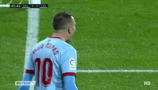 Валенсия в концовке матча одолела Сельту: смотреть голы