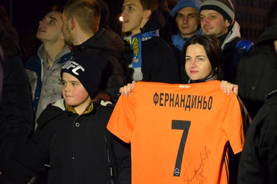 Манчестер Сити уже в Харькове